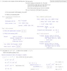calculus max min answers 4