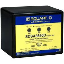 square d 36 ka single phase panel mounted type 1 surge protective square d sdsa3650 installation instructions at Square D Surge Protector Wiring Diagram