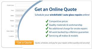 get an e for windshield auto glass