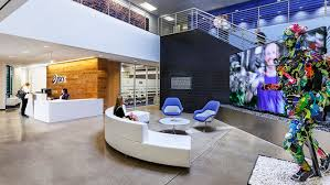 office lobby design. This Is Clear From The Moment You Step Into Lobby Of Its California  Headquarters, With Airy Design Office P