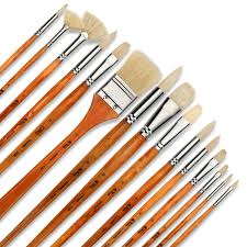 com artify 15 pcs professional paint brush set perfect for oil painting with a free carrying box