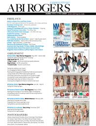 fashion cv examples creative cvs and portfolios fashion cv examples