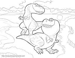 Small Picture Disneys The Good Dinosaur Nash and Ramsey Coloring Page The