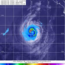 Ocean Of Light Juliette Satellite Finds A Hook Of Heavy Rainfall In Hurricane Juliette