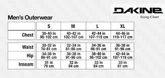 Dakine Harness Size Chart Kitesurfing Size Chart Kite Size