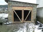 Как сделать дверь на гараж