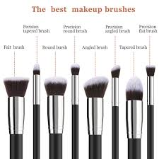 bestope makeup brushes 8 pieces makeup brush set professional face eyeliner blush contour foundation cosmetic brushes for powder liquid cream walmart