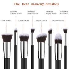 bestope makeup brushes 8 pieces makeup brush set professional face eyeliner blush contour foundation cosmetic brushes for powder liquid cream walmart