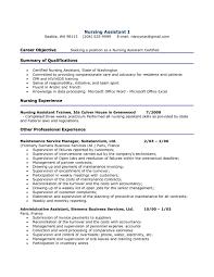 fetching cna resume sample sweetlooking  resume job