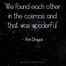 Carl Sagan Love Quote