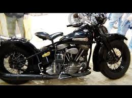 harley davidson panhead bobber old school vintage motorcycle youtube