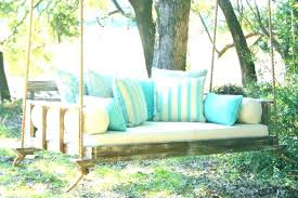 medium size of outdoor swing bed for porch swings swinging beds vintage hanging large size