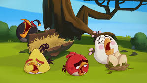 angry birds hiccups