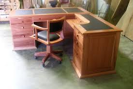 solid timber desk return1