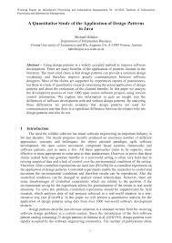 Flex Design Patterns Pdf Pdf A Quantitative Study Of The Application Of Design