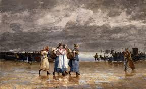 winslow homer four fishwives 1881 watercolor on paper