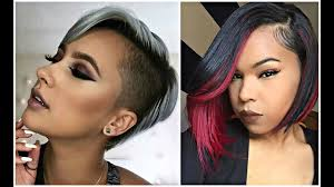 Short Hair Style For Black Women 2017 short haircuts for black & african american women youtube 8548 by wearticles.com