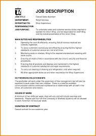 Resume Job Description Examples Job Description Examples Mt Home Arts