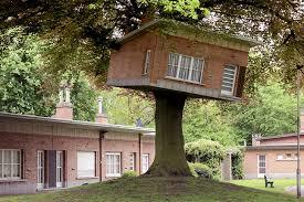 Benjamin Verdoncks Turned Tree House Springs Up in Belgium