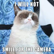 grumpy cat i am smiling. Plain Cat Grumpy Cat On Twitter  On I Am Smiling G