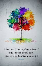 Tree Quotes Impressive Canvas Quote Art The Best Time To Plant A Tree Was Twenty Years