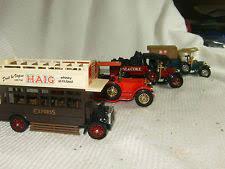 crossley engine lesney models yesteryear 2 x 1918 crossley 1922 bus rolls royce fire engine