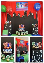 Pj Mask Party Decoration Ideas PJ Masks Birthday Party Ideas Roundup Twitchetts 15