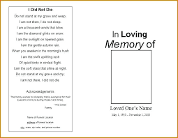 Pamphlet Template Microsoft Word Funeral Pamphlet Template Funeral Program Template Word Photo Album