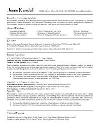 Undergraduate College Resume Template Awesome Resume Example College