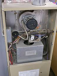 furnace starts then shuts off won t keep running cleaning flame amana furnace model guic070 upper access cover removed