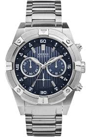guess chronograph stainless steel watch u0377g2 men s guess chronograph stainless steel watch u0377g2