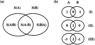 Venn Diagram A B A Entropy Venn Diagram For A Bipartite System Ab B