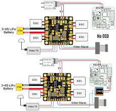 matek mini quad pdb 5v 12v bec outputs 36x36mm flying tech matek mini quad pdb connection diagram fpv osd