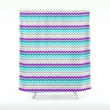 teal chevron shower curtains. Turquoise Chevron Curtains Uk Teal Blue Purple Grey Gray Shower Curtain