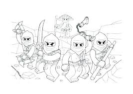 Ninjago Coloring Pages Coloring Pages To Print Colouring Free Jay