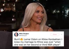 Kim Kardashian Quotes 91 Best Kim Kardashian Brutally Dragged Lamar Odom In This Savage Tweet For
