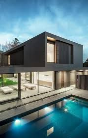 architecture houses. Architecture Beast: House Colors: Amazing Modern Facade In Brown | #modern # Houses E