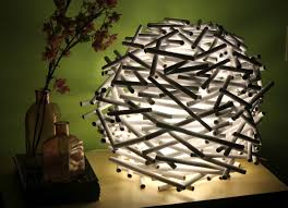 Diy Lamp Diy How To Make A Birds Nest Lamp Shade Out Of Newspaper Catch
