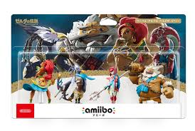 Breath Of The Wild Amiibo Chart Nintendo Offering A 4 Pack For The New Zelda Breath Of The
