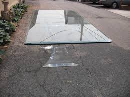 beveled glass table top dining room