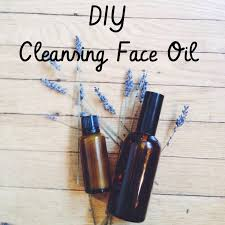 make natural cleansing face oil and makeup remover