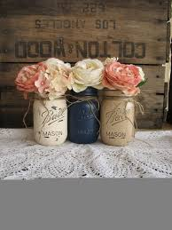 Blue Mason Jars Wedding Decor Mason Jar Decorations For Wedding MFORUM 61