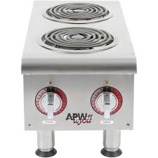 luxury main picture you apw wyott ehpi 240v dual burner countertop electric range 240v