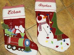 Handmade Christmas Stockings Decor Cute Pottery Barn Christmas Stockings For Lovely Christmas
