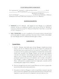 Event Planning Services Agreement Banquet Contract Template Allthingsproperty Info