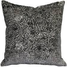 chenille throw pillows.  Pillows Visconti Gray Chenille Throw Pillow 17x17 In Pillows I
