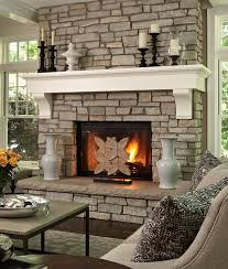 ... 40 Stone Fireplace Designs From Classic To Contemporary Spaces  Excellent Design Ideas Styles And 10 On ...