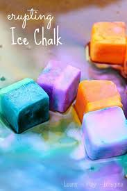 fun crafts for kids to make fun diy ice chalk paint projects diy projects