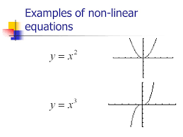 5 examples of non linear equations