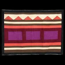 "Navajo Modern Twin Rocks ""Journey"" Rug - Eleanor Yazzie (#042)"